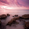 Riviera Maya Sunrise by Adam Romanowicz