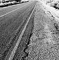 Road In The Desert #1 by Alyaksandr Stzhalkouski
