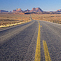 Road Through Monument Valley, Utah by Panoramic Images
