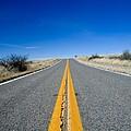 Road Through Sulphur Flats by Jim DeLillo