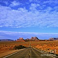 Road To Monument Valley by Alex Cassels