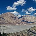 Road To Nubra Valley by Lalam Mandavkar