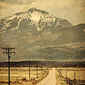 Road To The Mountains by Jill Battaglia