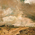 Road To The Spaniards. Hampstead by John Constable