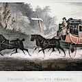 Road Travel/stagecoach by Granger