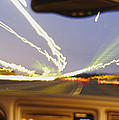 Road Viewed From A Car, Atlanta, Georgia by Panoramic Images