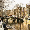 Roads Of Amsterdam by Tino Lopes