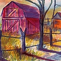 Roadside Barn by Kendall Kessler