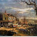 Roadside Inn, 1872 by Granger