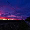 Roadside Sunset by Lars Lentz