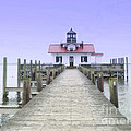 Roanoke Marshes Light  by Lydia Holly