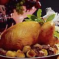 Roast Turkey With Potatoes by The Irish Image Collection