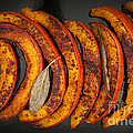 Roasted Pumpkin Slices by Elena Elisseeva