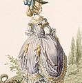 Robe De La Circassienne, Engraved by Claude Louis Desrais