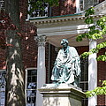Robert Brooke Taney Statue - Maryland State House  by Christiane Schulze Art And Photography