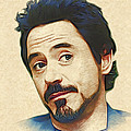 Robert Downey Jr. by Marina Likholat