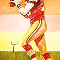 Quarterback In Motion by Al Brown