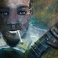 Robert Johnson Crossroad Blues by Susan Voigt