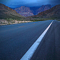 Robert Melvin - Fine Art Photography - Blue Diamond Storm by Robert Melvin
