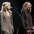 Robert Plant And Alison Kraus by Concert Photos