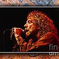 Robert Plant Art by Marvin Blaine