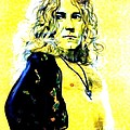 Robert Plant Of Led Zeppelin   by Jim Fitzpatrick