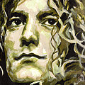 Robert Plant. Golden God by Tanya Filichkin