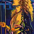 Robert Plant. Kashmir by Tanya Filichkin