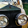 Robert Redford By A Rolls-royce by Duane Michals