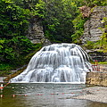 Robert Treman Swimming Hole by Frozen in Time Fine Art Photography