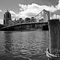 Roberto Clemente Bridge Pittsburgh by Amy Cicconi