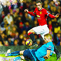 Robin Van Persie Of Manchester United by Don Kuing