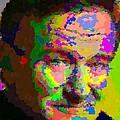Robin Williams - Abstract by Samuel Majcen