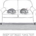 Robot Cat Passes Turing Test by Amy Kurzweil