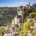Rocamadour Midi-pyrenees France by Colin and Linda McKie