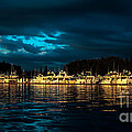 Roche Harbor  At Sunset by Robert Bales