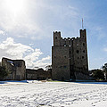 Rochester Castle by Dawn OConnor
