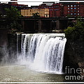 Rochester Ny High Falls by Rose Santuci-Sofranko