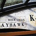 Rock Chalk Ku by Paul Ganser