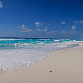 Rock Formation On The Coast, Cancun by Panoramic Images