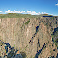 Rock Formations In Black Canyon by Panoramic Images
