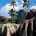 Rock Formations On The Beach, Anse by Panoramic Images