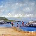 Rock Hall Beach by Loretta Luglio