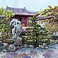 Rock Landscape Of The Dr. Sun Yat-sen Garden by Eileen  Fong