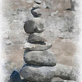 Rock Markers Photo Art 01 by Thomas Woolworth
