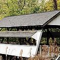 Rock Mill Covered Bridge Ohio by Wendy Gertz
