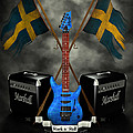 Rock N Roll Crest- Sweden by Frederico Borges