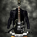 Rock N Roll Crest-the Guitarist by Frederico Borges