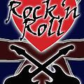 Rock N Roll Union Jack by Neil Finnemore