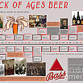 Rock Of Ages Bass Beer Timeline by Megan Dirsa-DuBois